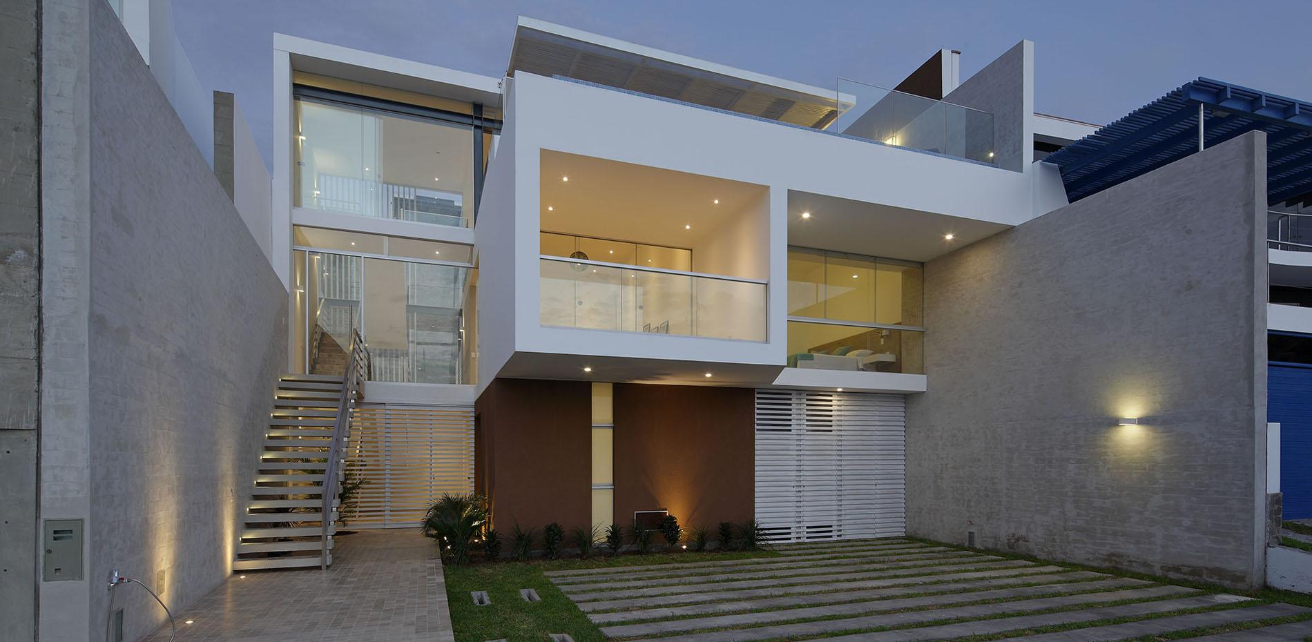 Proyecto Arquitectura Casa De Playa Lomas B15 Lima Perú