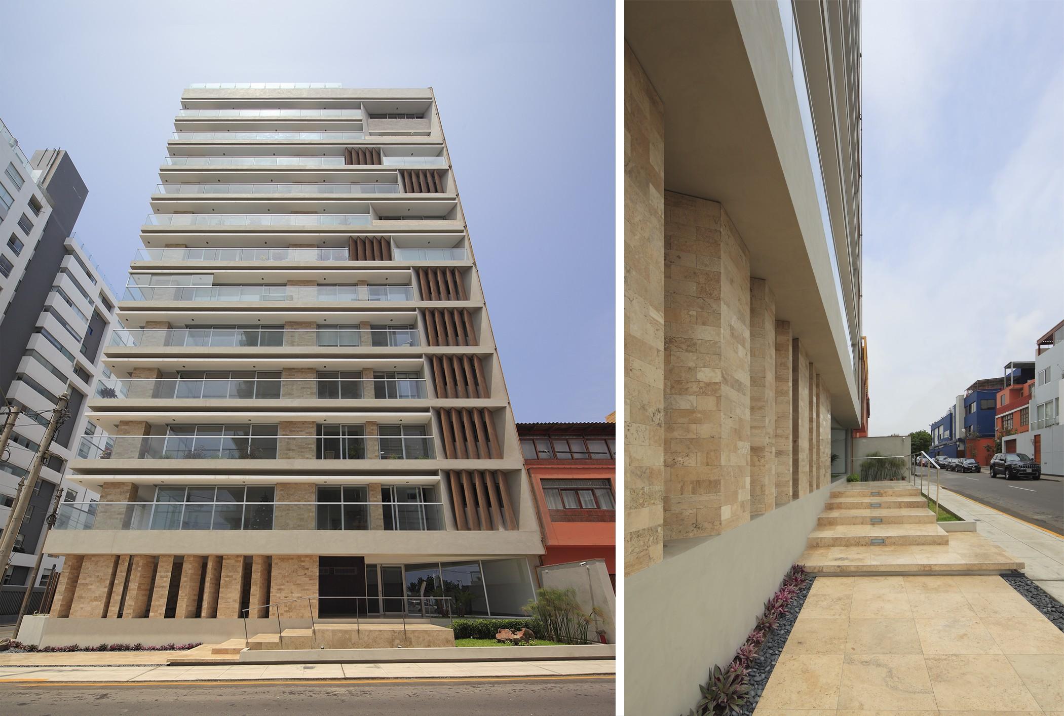 Edificio Multifamiliar Plenamar, Miraflores, Lima, Perú