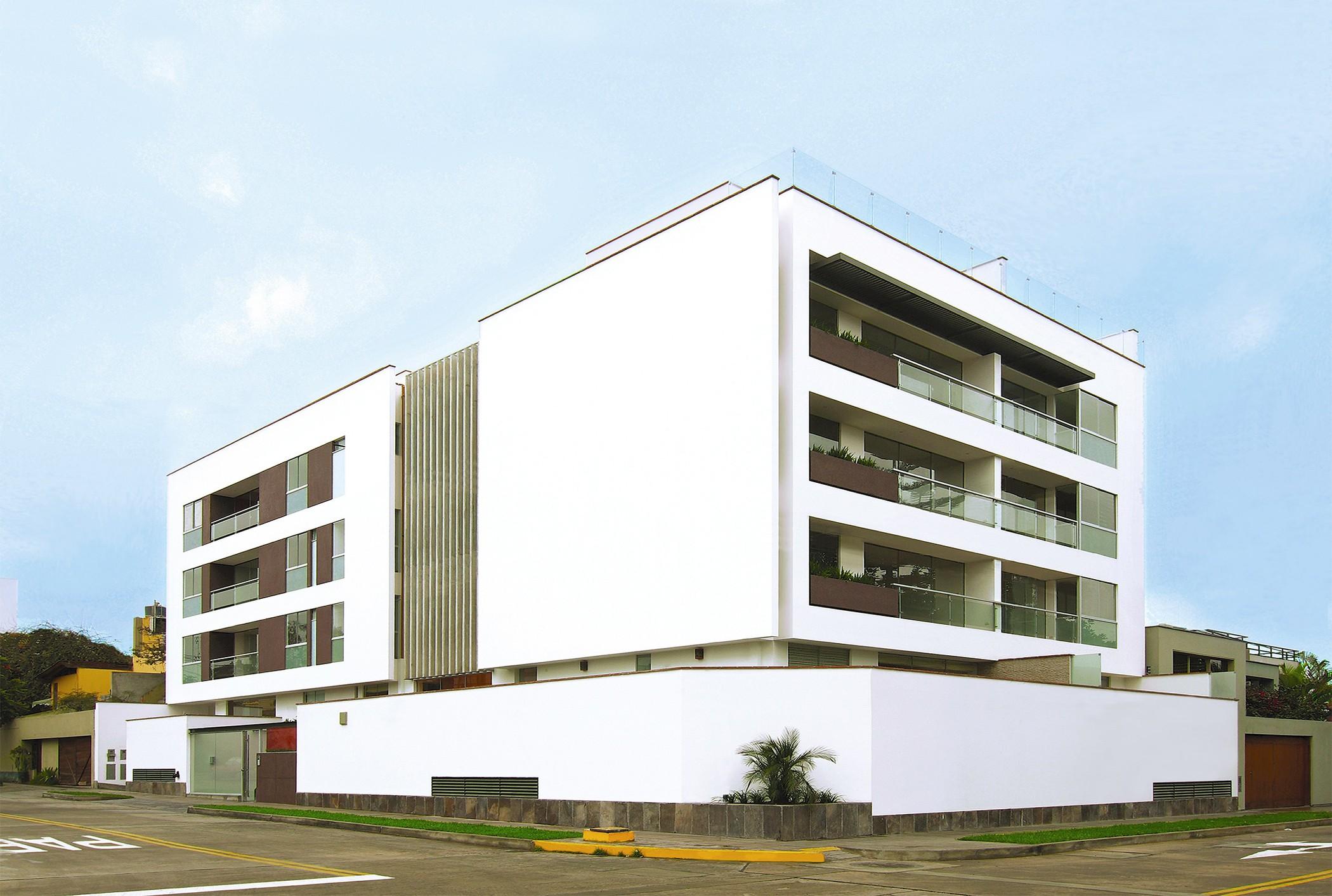 Edificio Multifamiliar Las Moras, Miraflores, Lima, Perú